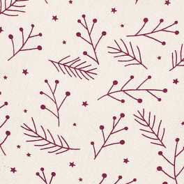 Walton Snowberries Red Tablecloth - Small
