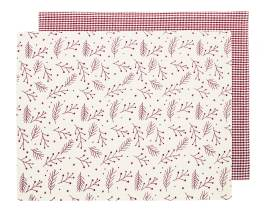Walton Snowberries Red Placemats - Set of 4