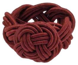 Walton Rope Red Napkin Ring