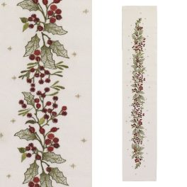 Walton Christmas Winter Berries Runner