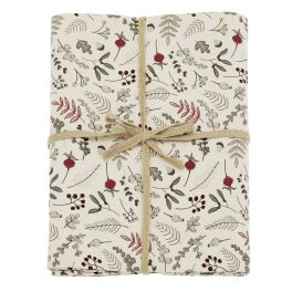 Walton Winter Garden Mulberry Tablecloth - Large