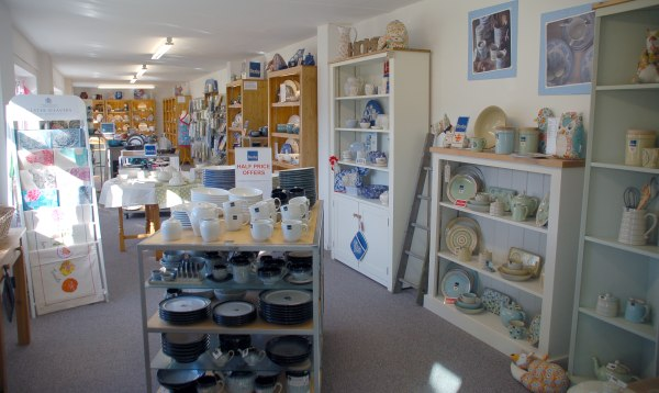 Photo of shop interior & Tableware For Life Specialists in new and discontinued Denby